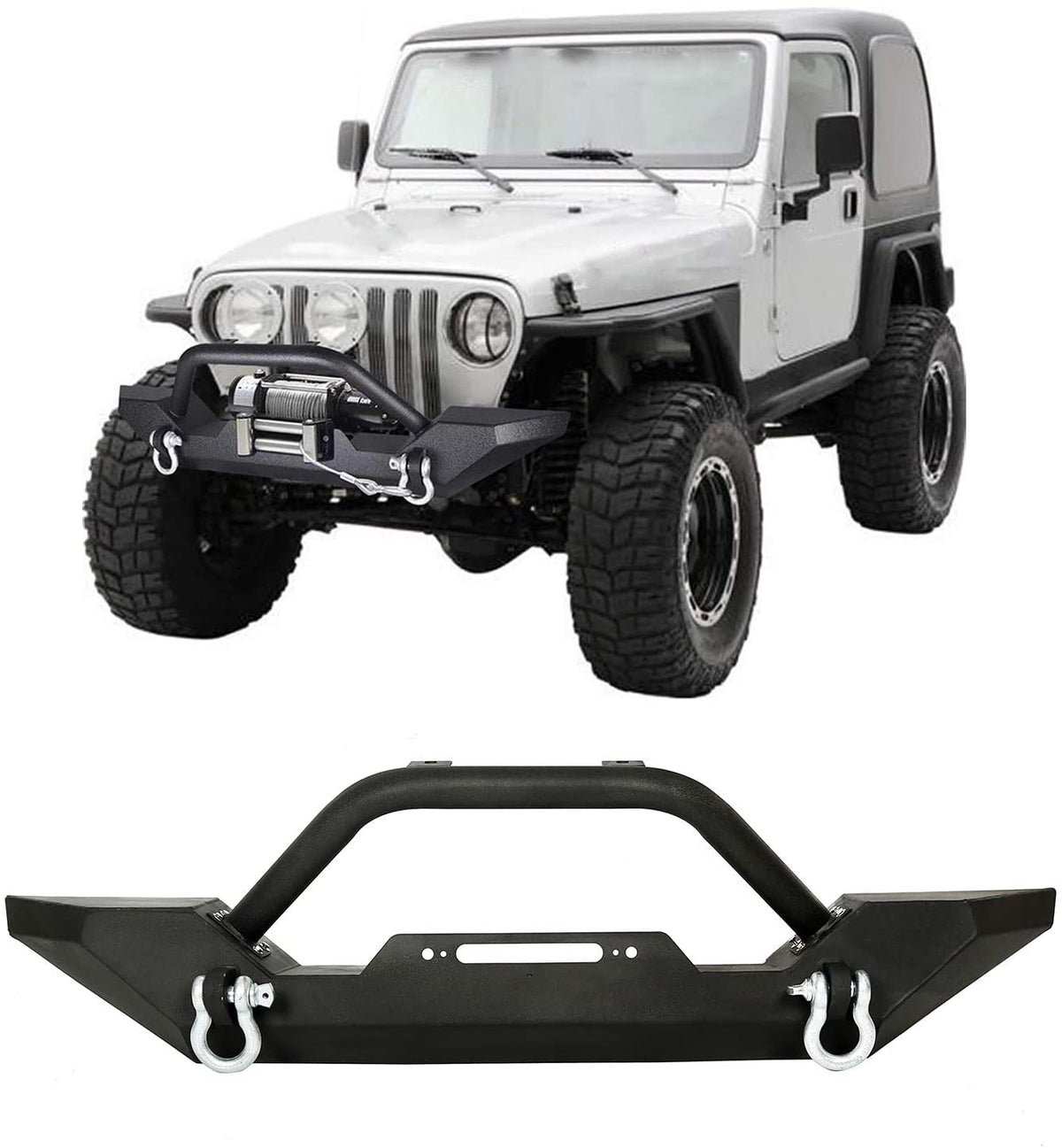 Jeep Wrangler TJ 1997 - 2006 Armor Front Bumpers