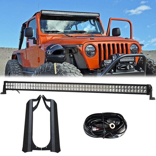 Jeep Wrangler TJ 1997 - 2006 Lights Light Bars & Mounts