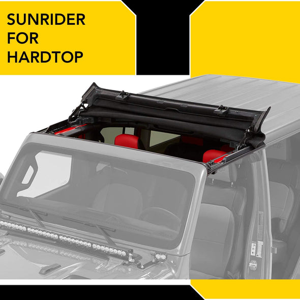 Sunrider for Hardtop fits with Jeep JL & JT