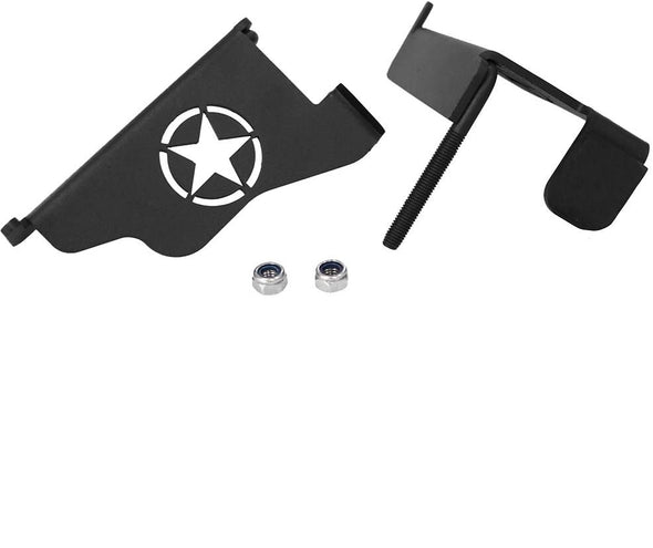 Foot Pegs Star Rest Kick Panel for 1996-2006 Jeep Wrangler TJ