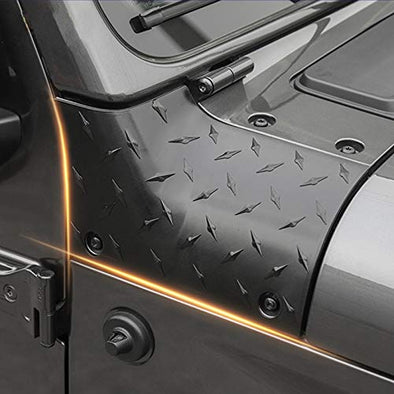 Cowl Body Armor Jeep Outer Cowl Covers Corner Guards