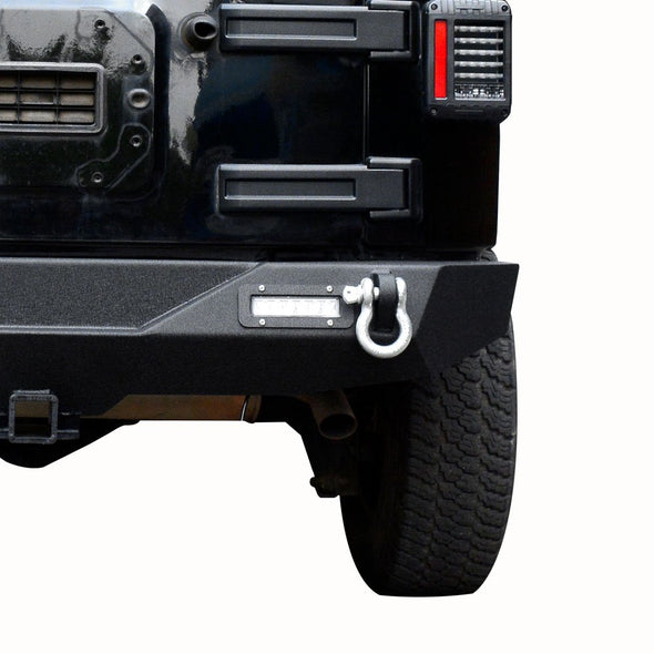 Rear Bumper for 07-18 Jeep Wrangler JK
