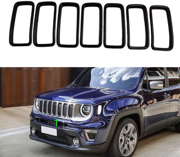 Front Grill Inserts for Jeep Renegade 2019 - 2020
