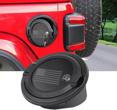 USA Flag Gas Cap Cover for Jeep JL & JT