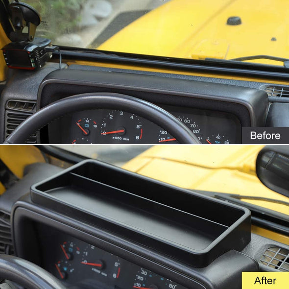 Dash Console Storage Box for 1997-2006 Jeep Wrangler TJ