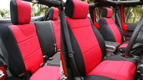 Neoprene Seat Cover Custom fits Jeep Wrangler JK 2007-17