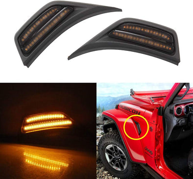LED Light Turn Signal Lamps for Jeep JL & JT