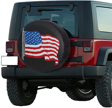 Jeep Wrangler USA Spare Tire Cover