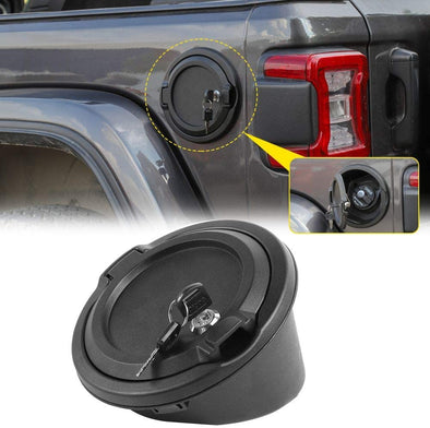 Locking Gas Cap Cover for Jeep JL & JT