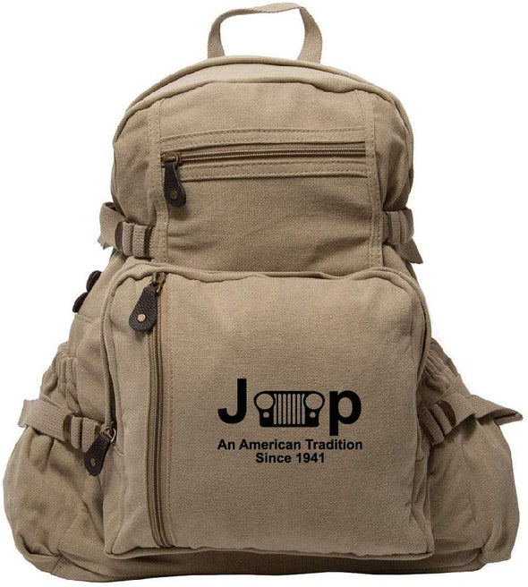 Jeep Canvas Backpack