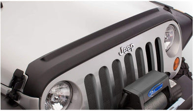 Black Hood Stone Guard for Jeep JL & JT