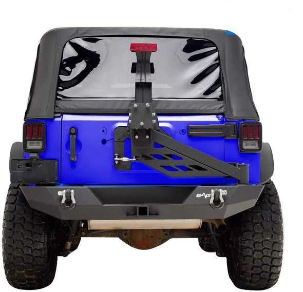 Rear Bumper W/Tire Carrier Linkage