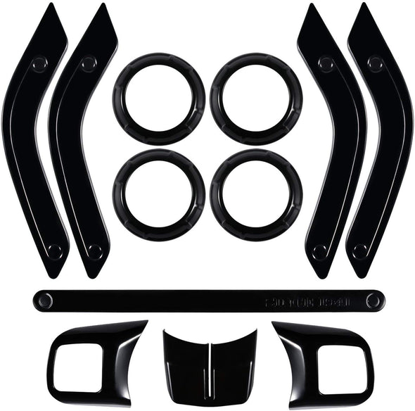 Interior Trim Kit for Jeep Wrangler 2011 - 2018 JK