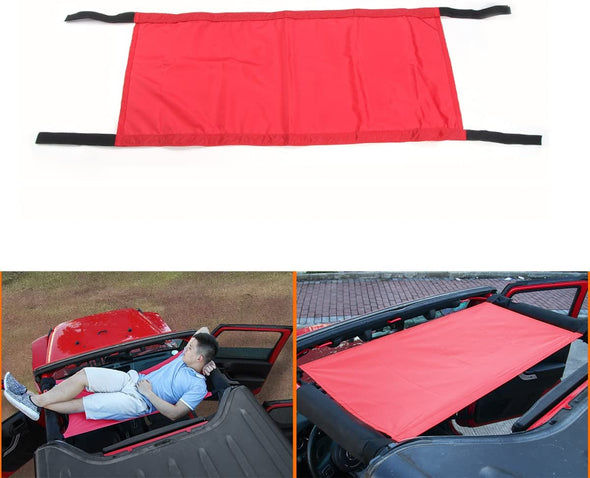 Roof Rest Bed Hammock for 1987-2020 Jeep Wrangler