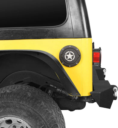 Gas Cap Star for 1997-2006 Jeep Wrangler TJ