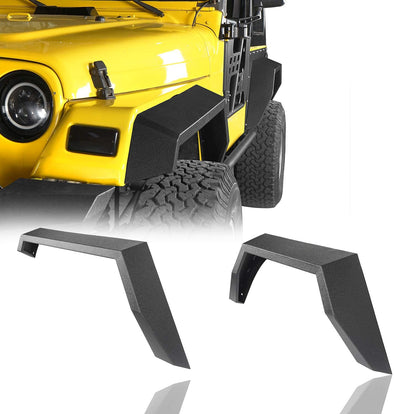 Steel Fender Flares Front & Rear for 1997-2006 Jeep TJ