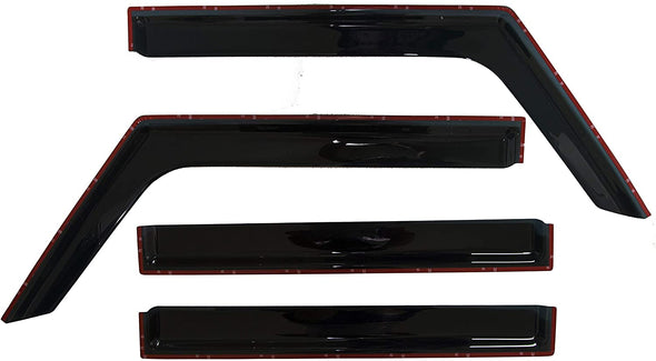 Window Rain Deflectors for Jeep JL & JT