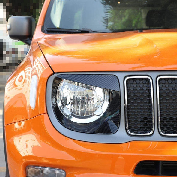 Headlight Angry Bird Trim for 2019-2020 Jeep Renegade