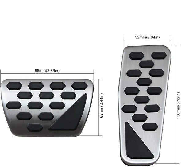 Pedal Cover Set for Jeep JL & JT