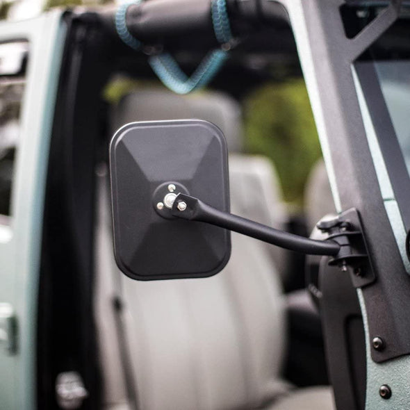 Door Off Mirror for Jeep Wrangler 1997-2017