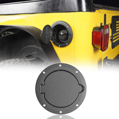 Gas Tank Cap Cover for Jeep Wrangler TJ 1997-2006