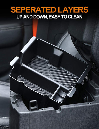 Center Console Organizer for Jeep Wrangler JL & Gladiator