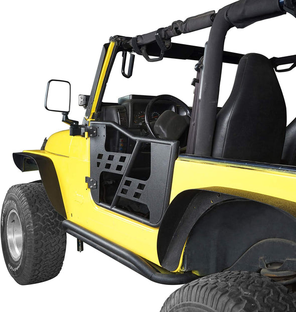 Offroad Tubular Trail Doors for 1997-2006 Jeep Wrangler TJ