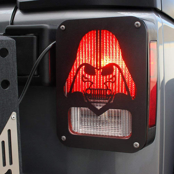 Tail Light Covers Guards Protectors (DARTHVADER)