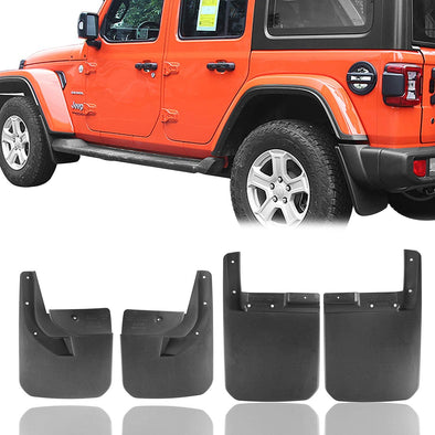 Mud Guards Kit for 2018-2020 Jeep Wrangler JL