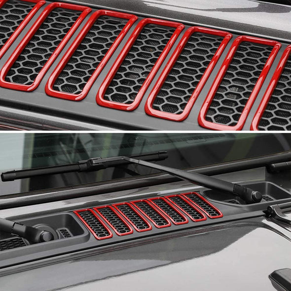 Hood Vents Cover for Jeep JL & JT