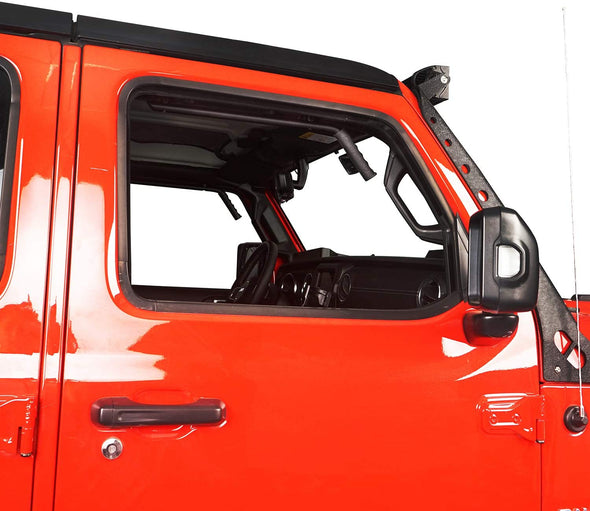 Steel Front Grab Handles for Jeep JL & JT