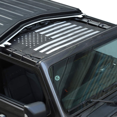 Sunshade Mesh UV Protection 2 Door for Jeep JL & JT