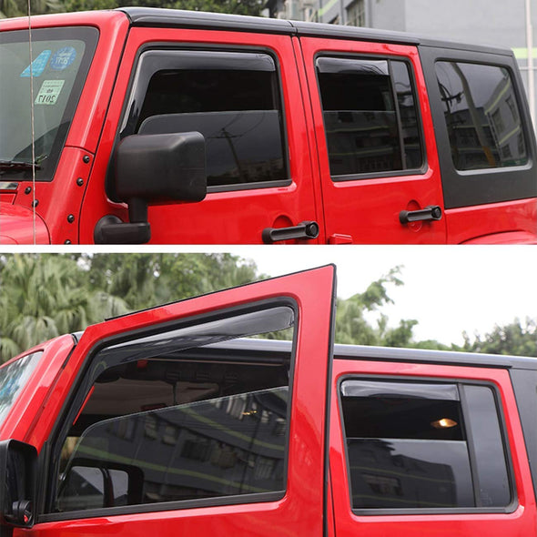 Side Window Deflectors Visor