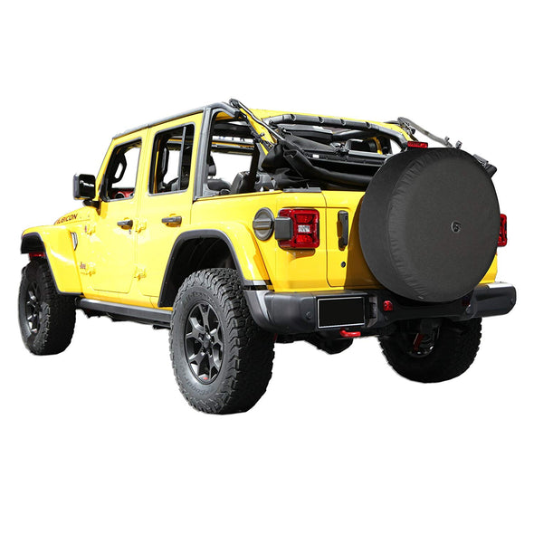 Soft JL Tire Cover for Jeep Wrangler JL (with Back-up Camera)