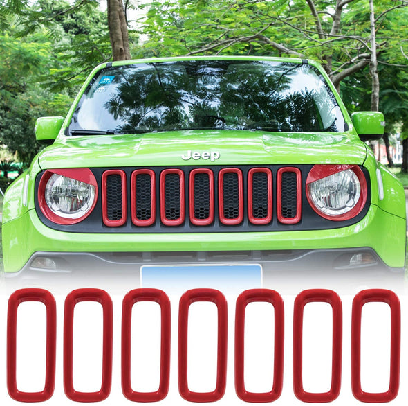Front Grille Inserts for Jeep Renegade 2015 -2018