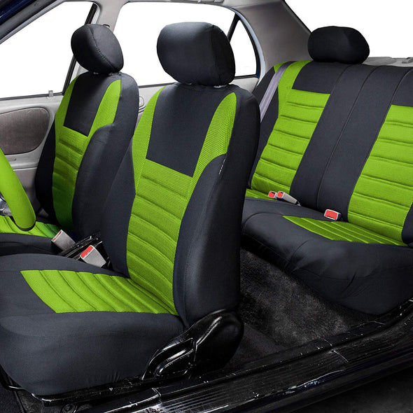 Jeep and Truck Seat Cover (Premium 3D Air mesh Design Airbag and Rear Split Bench Compatible)