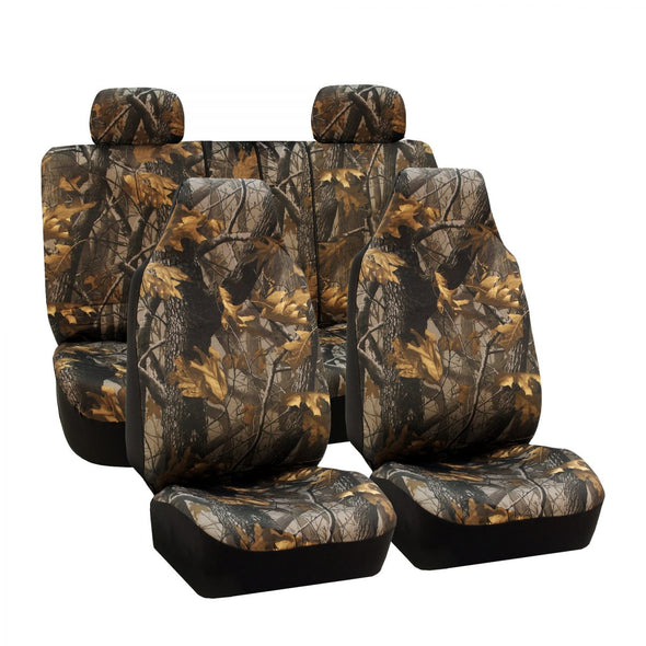 Hunting Camouflage Seat Covers – Full Set