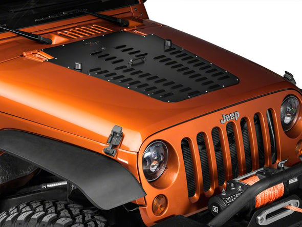 Vented Hood Louver for Jeep Wrangler JK 2013-2017