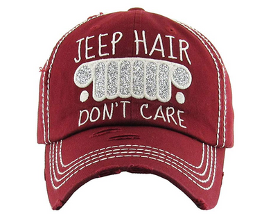 Jeep-Hair don't Care Cap