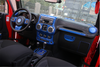 Interior Trim Kit for Jeep Wrangler JK (BLUE)