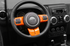 Interior Trim Kit for Jeep Wrangler JK (ORANGE)