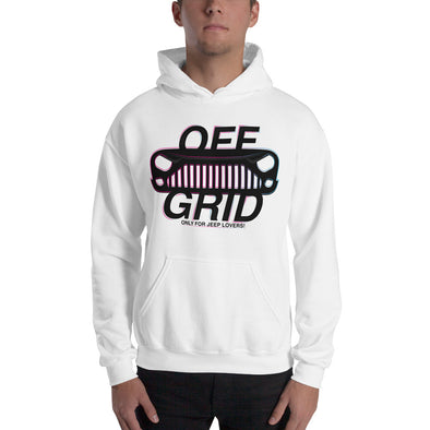 OffGrid Store Jeep White Hoodie