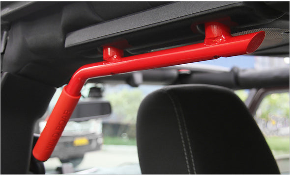 Jeep wrangler JK 2007-2018 Rear Grab Handle (RED REAR GRAB HANDLE)
