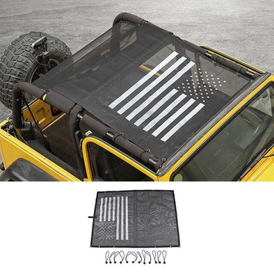 Jeep Wrangler TJ 1997-2006 Sunshade Mesh UV Protection