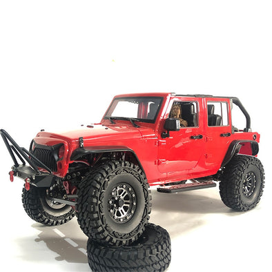 Body Top Off for 1:10 RC Jeep Wrangler