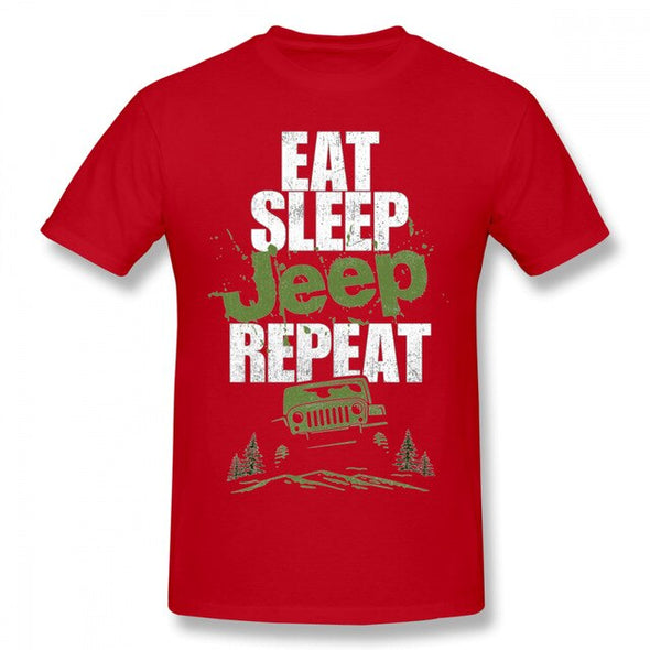 Eat Sleep Jeep Repeat T-Shirt