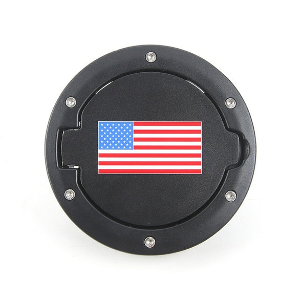 Jeep Wrangler JK 2007-2018 Gas Cap (USA FLAG)
