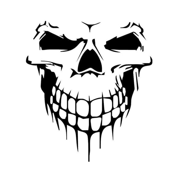 Skull Head Sticker for Jeep