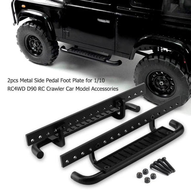 2pcs Metal Side Foot Plate for 1:10 RC Crawler