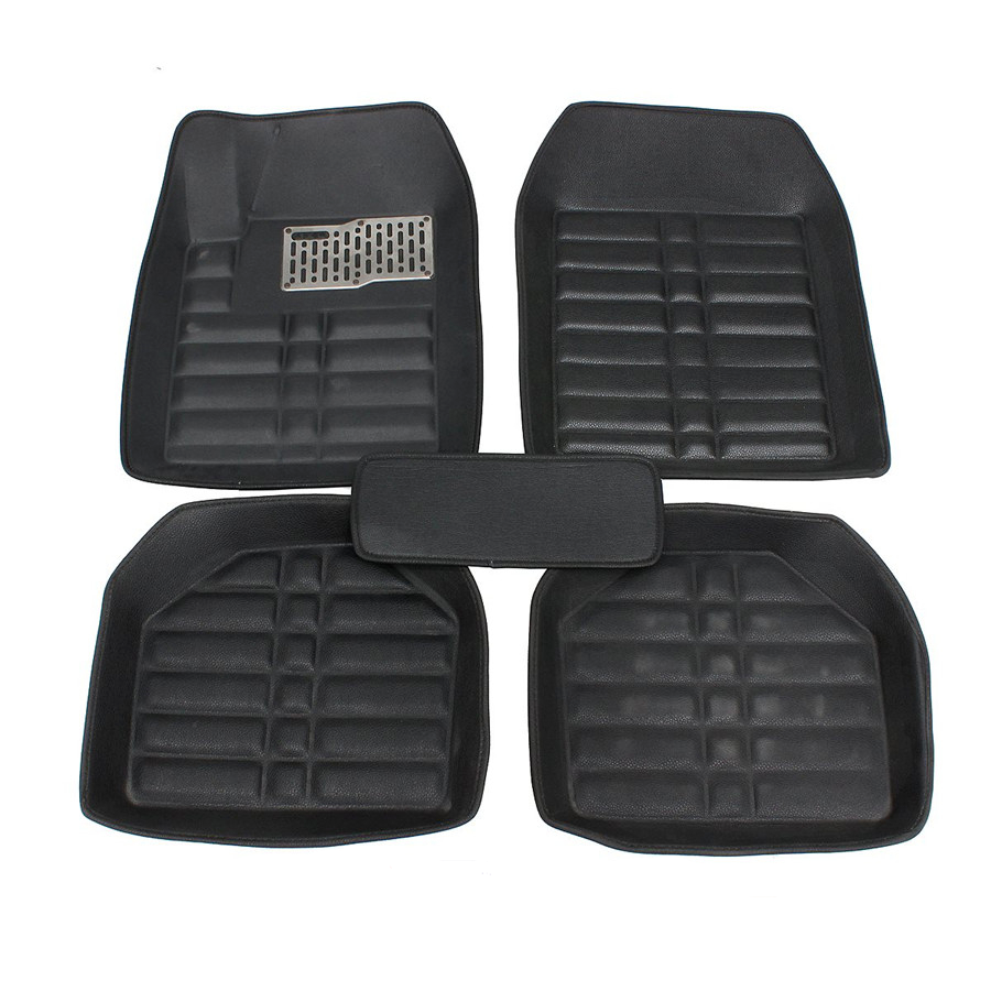 All Weather 5Pcs Universal Floor Mats for Jeep Wrangler TJ 1997-2006